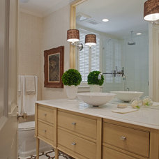 Traditional Bathroom by Rena Barclay Interiors