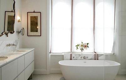 10 kloge vindues-løsninger, der sikrer privatliv på badeværelset