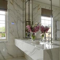 Contemporary Bathroom by TLA Studio