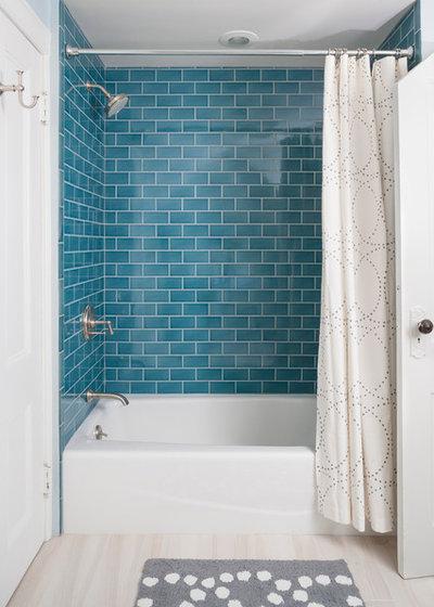 13 schicke badezimmer mit metro-fliesen, Hause ideen