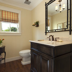 traditional bathroom by Julie Williams Design
