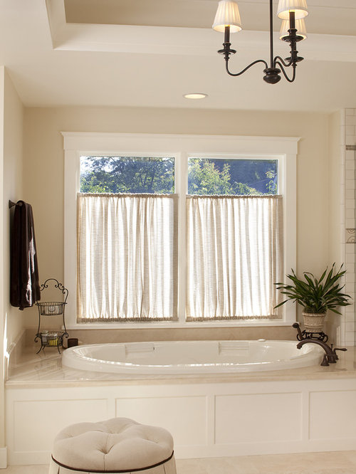 Tension Rod Curtains Houzz