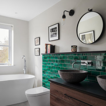 House in Uppingham by Vera Taylor Design