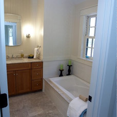 Traditional Bathroom by Robert Wilkanowski Architect, PC