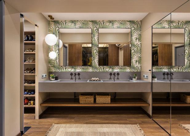 Contemporary Bathroom by Quirk Studio