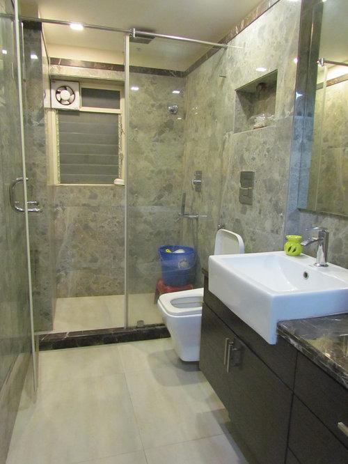 example of a trendy bathroom design in kolkata