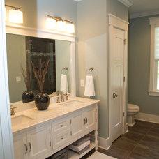 Beach Style Bathroom by S&W Home Builders