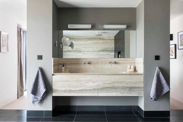 Coastal Bathroom by Touch Design Group