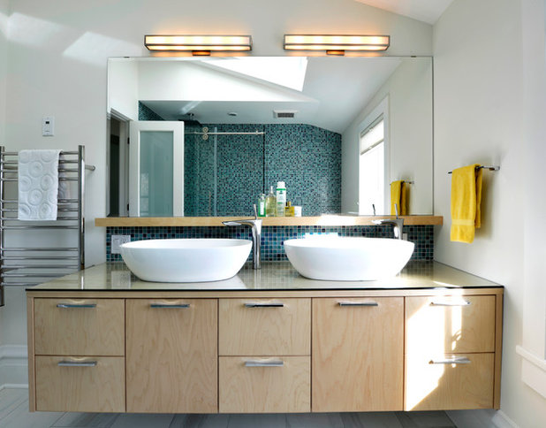 Bathroom workbook 8 elements of contemporary style - How much does it cost to gut a bathroom ...