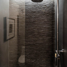 Industrial Bathroom by C O N T E N T Architecture