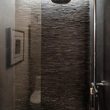 Industrial Bathroom by C O N T E N T Architecture