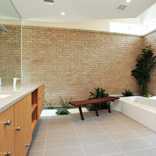 Contemporary Bathroom by Tom Hurt Architecture
