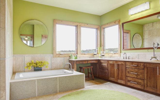 Contemporary Bathroom by Kailey J. Flynn Photography