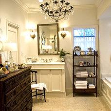 Traditional Bathroom by Katherine Robertson Photography