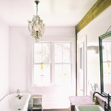 Farmhouse Bathroom by Michelle Pattee