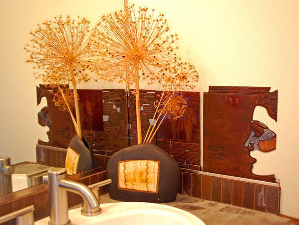 Eclectic Bathroom by Wendy K. Leigh