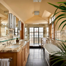 Traditional Bathroom by Liederbach & Graham, Architects