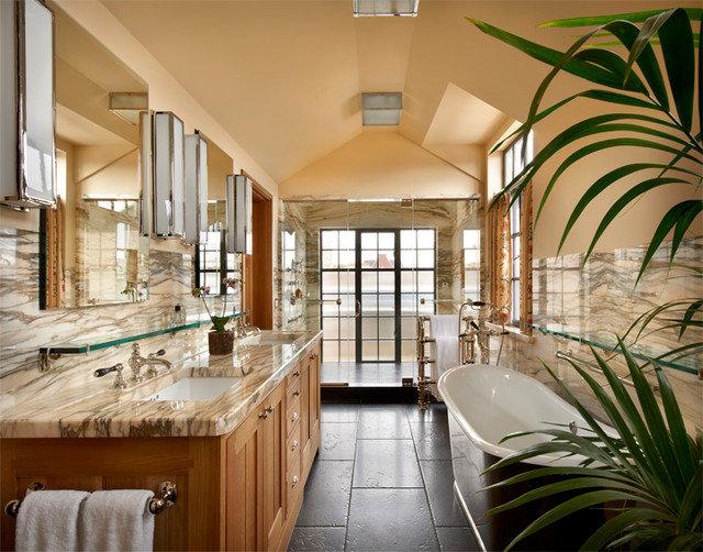 Traditional Bathroom by Liederbach & Graham, Architects