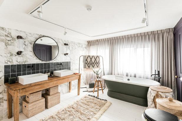 Skandinavisch Badezimmer By Amelia Hallsworth Photography