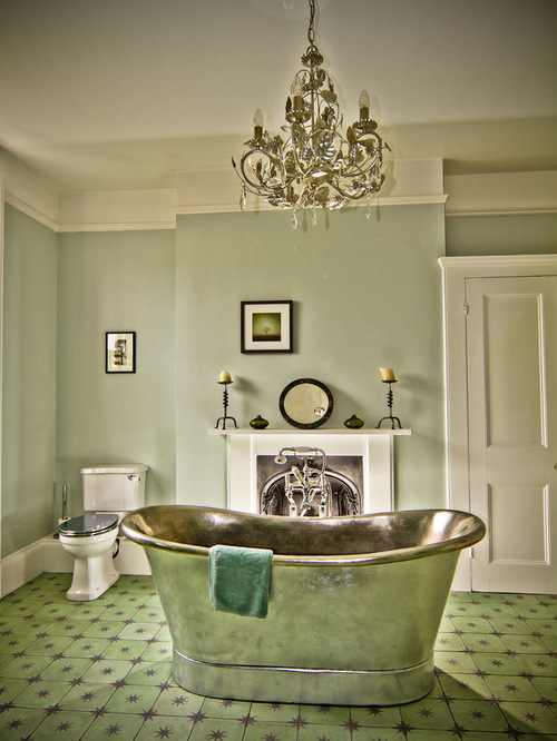 Green Floor Tile Houzz