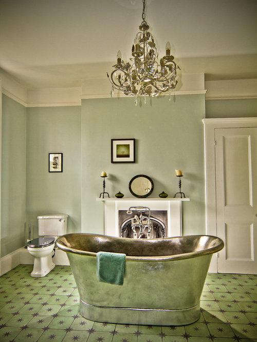 Green Floor Tile | Houzz