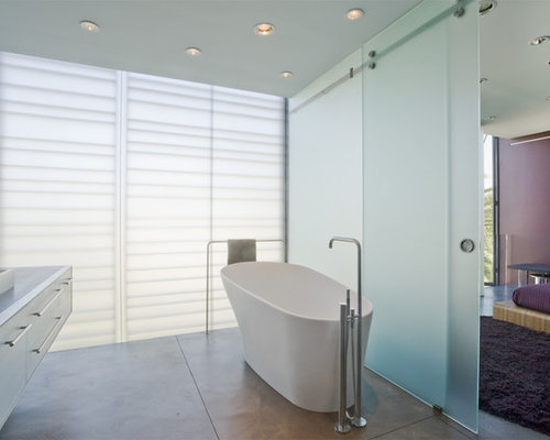 Bathroom Doors Frosted Glass frosted glass bathroom door | houzz