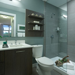 modern bathroom by Portico Design Group