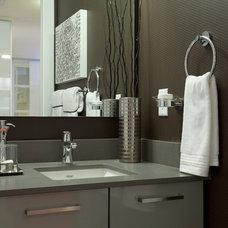Modern Bathroom by Portico Design Group