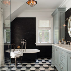 Traditional Bathroom by Omega Lighting Design