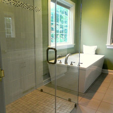 Contemporary Bathroom by Megan Poteat, AKBD