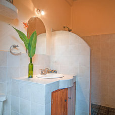 Tropical Bathroom by Louise Lakier