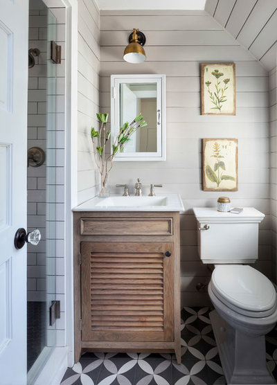 Farmhouse Bathroom by Inside Stories