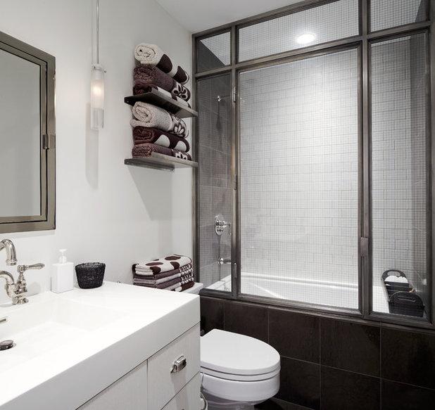 Contemporary Bathroom by SchappacherWhite Architecture D.P.C.