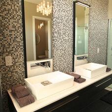 Contemporary Bathroom by Rebecca Mitchell Interiors & Boutique