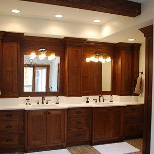 Hudson Rustic Master Bath