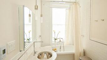 Hudson Street Bath and Sitting Room