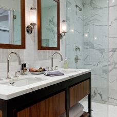 Contemporary Bathroom by wUNDERground
