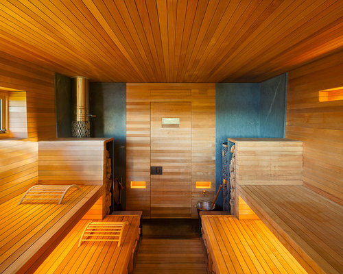 Sauna modern design  50 Best Modern Sauna Ideas & Designs | Houzz
