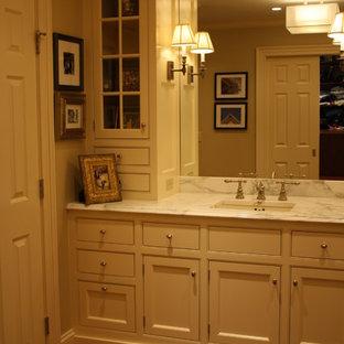 Inspiration för klassiska badrum