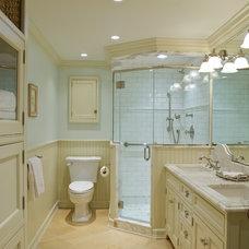 Traditional Bathroom by Huestis Tucker Architects, LLC