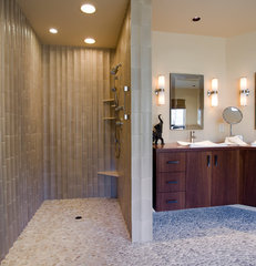 contemporary bathroom by Kaufman Homes, Inc.