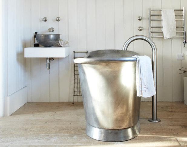 Vasca Da Bagno In Lamiera Zincata : 11 vasche da bagno rustiche con immediato effetto relax