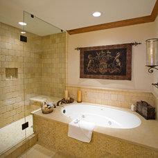 Rustic Bathroom by Djuna Design Studio