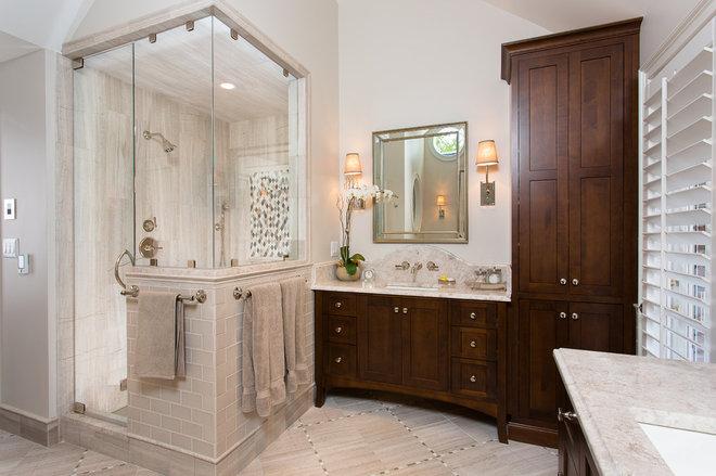 Traditional Bathroom by Kitchen + Bath Artisans