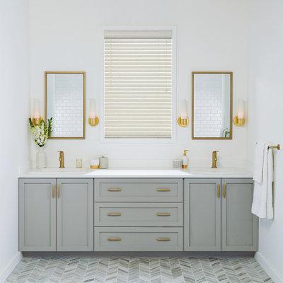Transitional Bathroom by Hunter Douglas