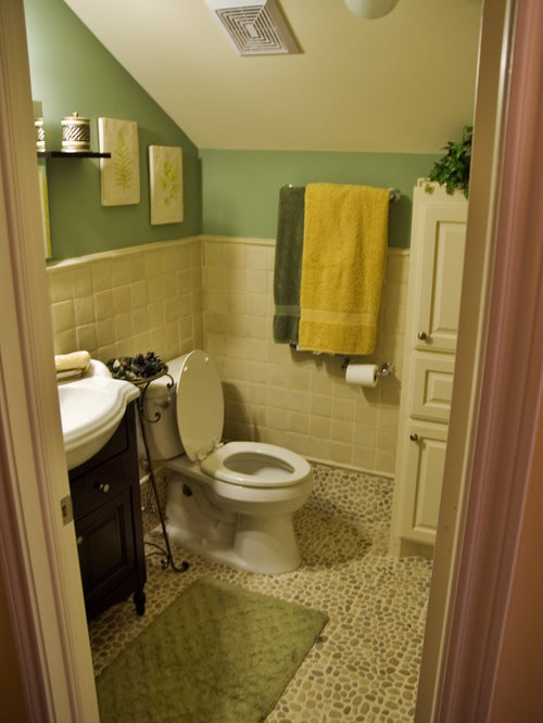 Bathroom design ideas renovations photos with yellow for Yellow and green bathroom ideas