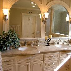 Traditional Bathroom by Kittrell & Associates Interior Design