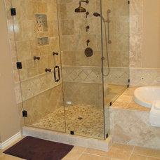 Traditional Bathroom by Stone Henge Floor Kitchen Bath