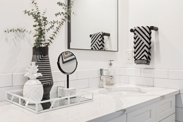 Scandinavian Bathroom by NDA Kitchens and Construction