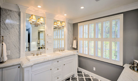 Master Bathroom Sink: One Or Two?
